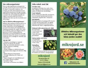 Mikrojords broschyr